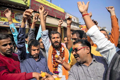 宗教対立の土地、ヒンドゥー教側に所有権 インドで判決:朝日新聞デジタル