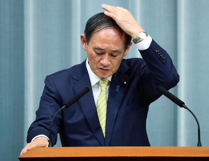 菅官房長官、河井氏に「自身の判断で説明を果たすべき」:朝日新聞デジタル
