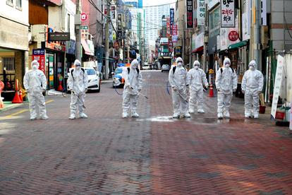 ウイルス 感染 コロナ 韓国