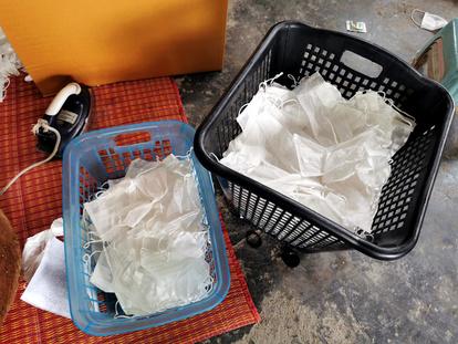 再 洗濯 マスク 利用 使い捨てマスクは洗える!不織布の専門家がオススメする洗い方とは?