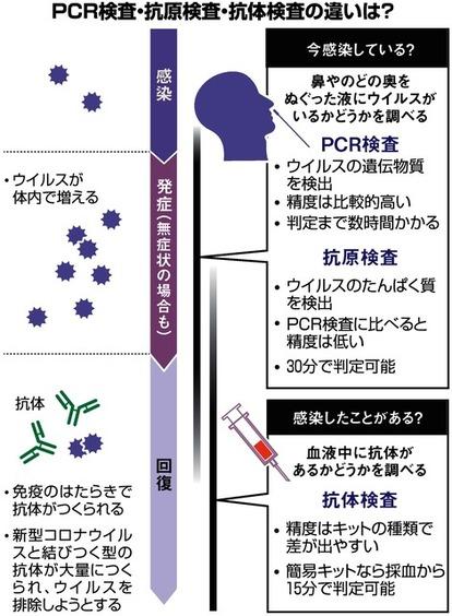 新型 コロナ 抗体 検査 日本