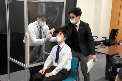 採取 検体 新型コロナ:「80万人検査」の広島県、検体採取能力アップへ :日本経済新聞