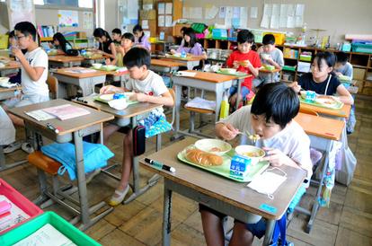 横浜市小学校給食再開