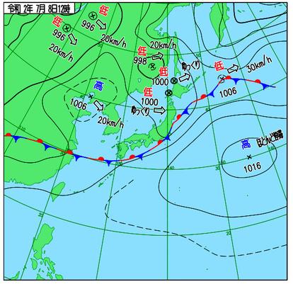 活発な梅雨前線、中国本土まで 長江沿いも記録的豪雨 [九州豪雨]:朝日 ...