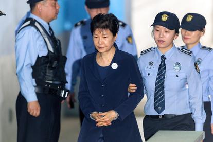 朴槿恵前大統領に懲役20年、贈収賄事件差し戻し審判決:朝日新聞デジタル