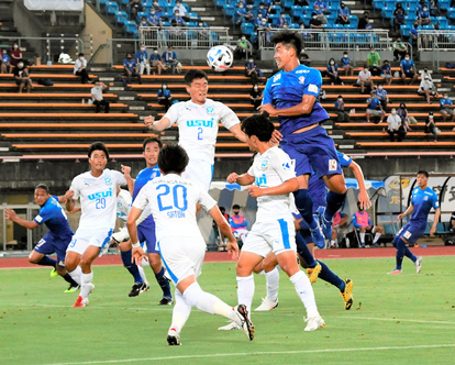 富山)「生で見るのが一番」カターレ富山、観客試合:朝日新聞デジタル