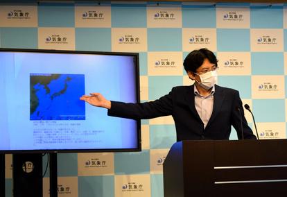 緊急地震速報は「誤報」だった 気象庁が会見でおわび :朝日新聞デジタル
