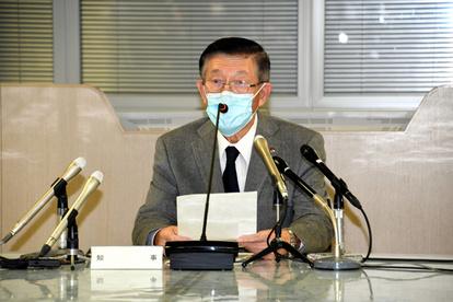 コロナ 秋田 会見 県