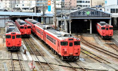 国鉄車両が9割超を占める岡山 その理由と気になる今後:朝日新聞デジタル