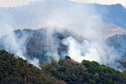 火事 足利 山
