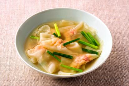 ワンタン 海老 エビワンタンと春雨の鍋。スープもうますぎてヘビロテ確実