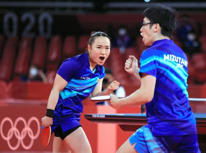 みまじゅん 東京オリンピック 卓球 金メダル 中国
