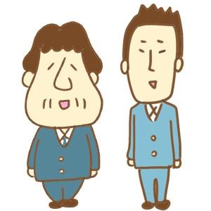 ズッコケ製菓(部長と部下)