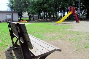 事件の数年前、男性はこの公園でよく見かけられた。いつも1人だったという=埼玉県川口市
