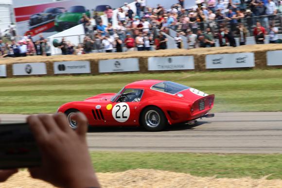 グッドウッド・フェスティバル、フェラーリ70周年祝う