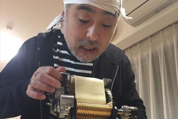 松尾スズキさんがはまった自家製ラーメン作り