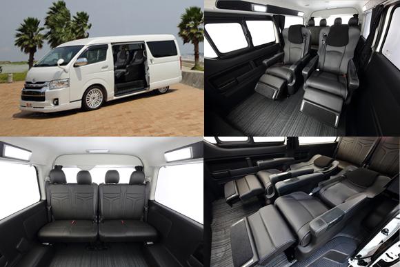 「横向き座席禁止」対応、ハイエースのキャンプ車に新型