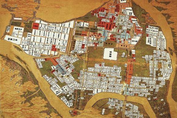 古地図を片手に維新の町・萩へ……古地図歩きがブームに