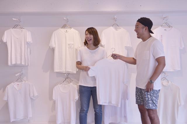 夏の必須アイテム さらりとキマるTシャツ