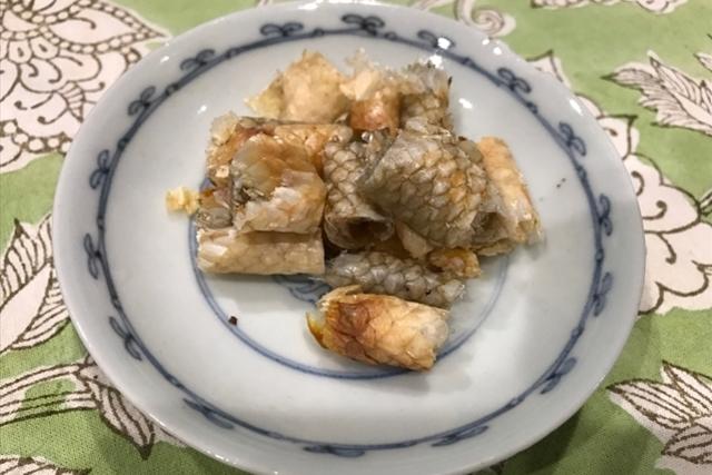 白アマダイとキンキのだしで里芋ご飯
