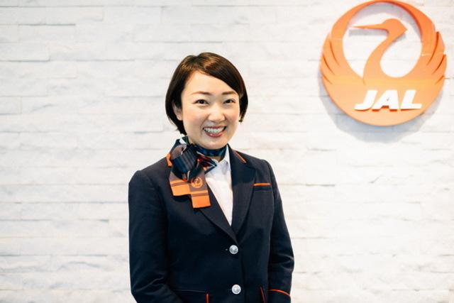JALグランドスタッフ・佐藤奈美子さん