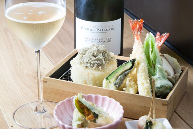 揚げたての天ぷらを気軽にバルで
