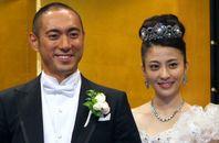 市川海老蔵さんと小林麻央さん