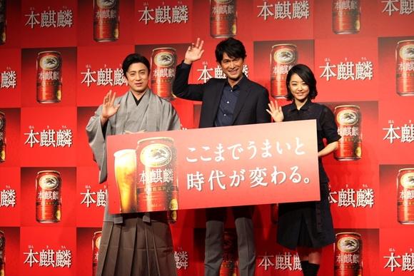 和食好きの井上真央さんが自宅で飲みたいビール