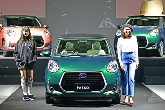 新型PASSO、ファッションブランドとコラボで若者重視