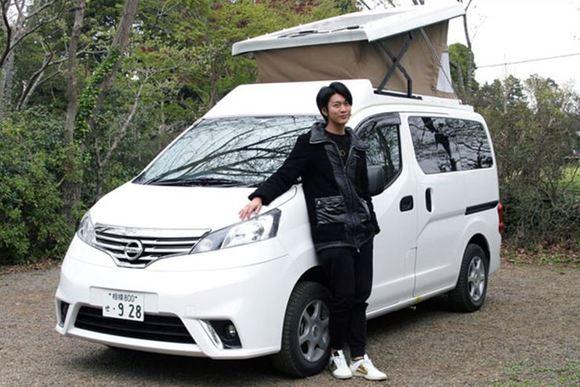 俳優・南圭介さんのキャンピングカー初体験レポート