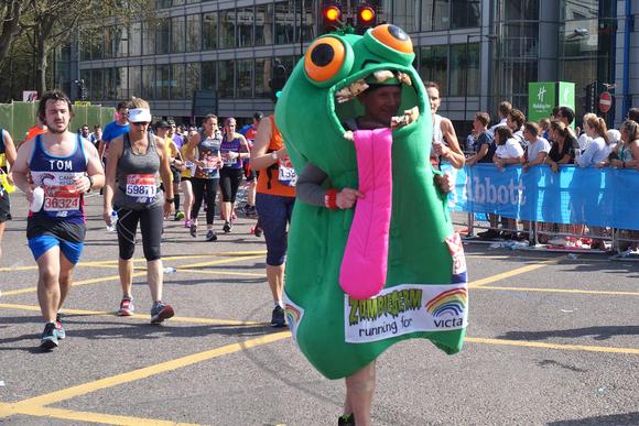 夏日のロンドンマラソン、思わぬ結果に……