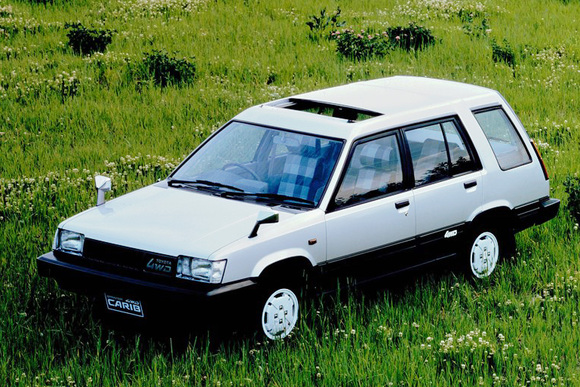 SUVの先駆けとなった1台 スプリンター・カリブ