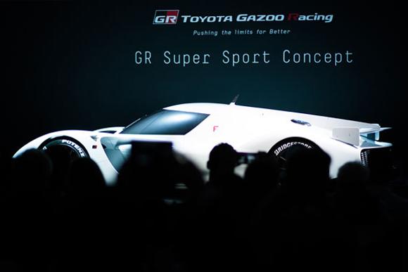 ルマン優勝車がベース トヨタのスーパースポーツカー