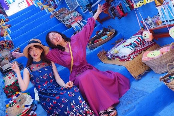 新井恵理那さん、友達のような母とのモロッコ2人旅