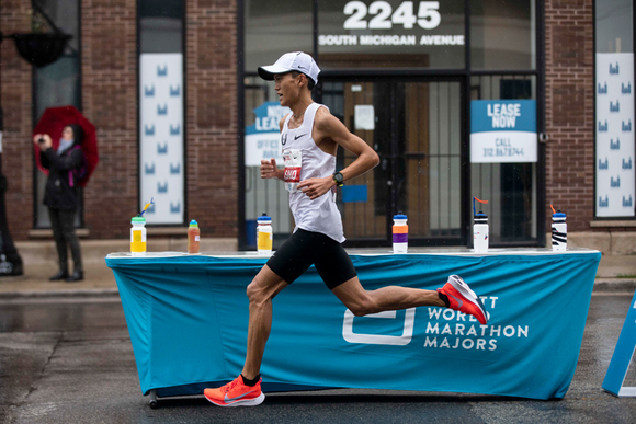 大迫傑のシカゴマラソン回顧 腹痛を乗り越え新記録樹立