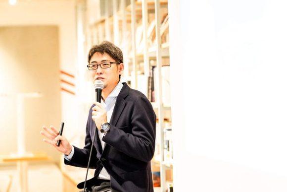マーケティングの現実を聞く 著者と語る朝渋・山口義宏さん