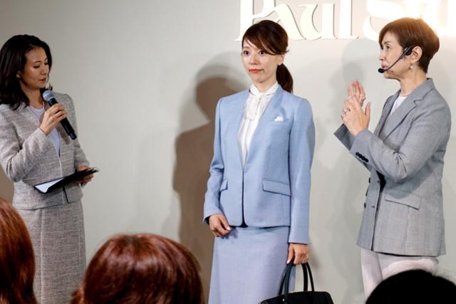 管理職の女性へ、装い提案