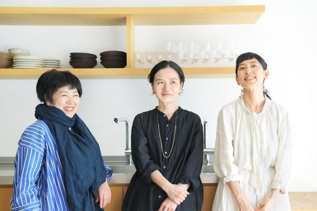 【花と料理 鼎談1】平井かずみ×渡辺有子×大段まちこ