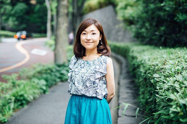 渋谷区のセラピスト、鈴木愛さん(38歳)