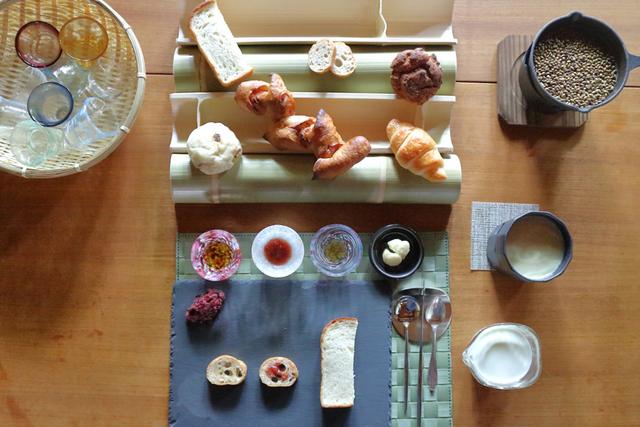 泊まれる京町家『つきひの家』宿泊者だけの朝食サービス