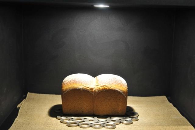 スポットライトを浴び、気高き姿で浮かびあがるパン