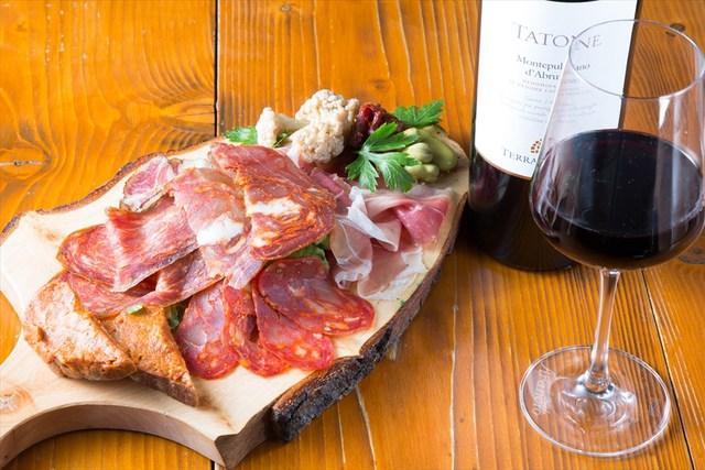 アブルッツォ州の郷土料理【盛り合わせがスゴいバル】