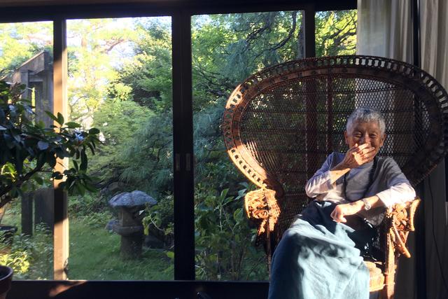 野村友里さん「心に刺さる、90歳の女性の言葉」