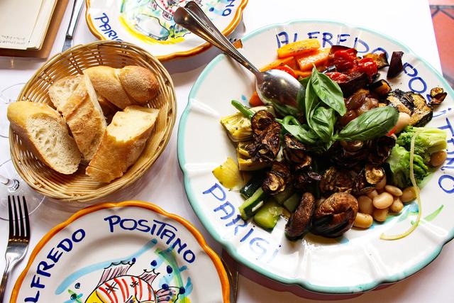 実は初登場、懐かしのイタリア料理