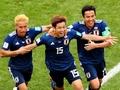 日本、コロンビアを破る