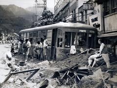 阪神大水害80年 水没した神戸市街