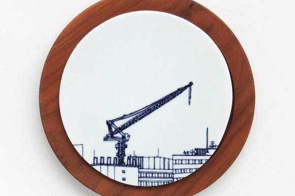 マニアックな風景を描く 熊本充子の不思議な器