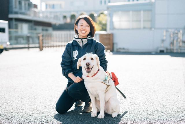 盲導犬訓練士:五百澤朋子さん