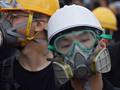 激動の香港デモ半年