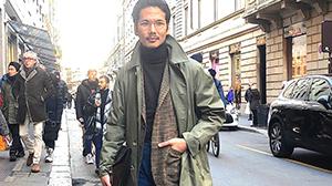 ロンドン生まれのグレンフェルは、プロも一目置くコート